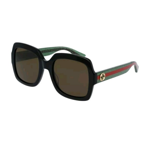 ef56d2325749 Gucci Accessories | Sunglasses Green Red Black Frames Unisex I ...